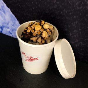 Toffee-Nougat-Nuss Schlemmer Becher