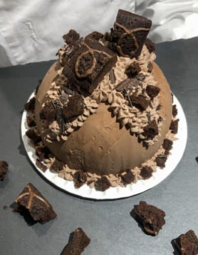 Eisbombe Brownies