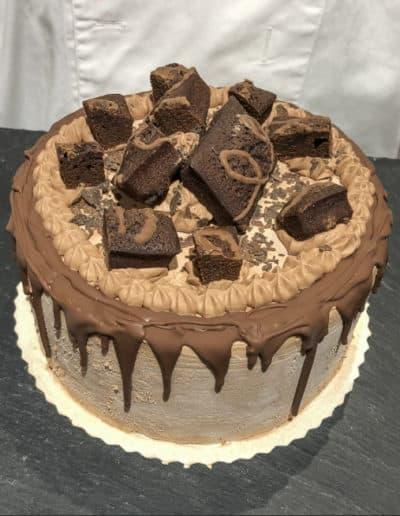 Eistorte Brownies